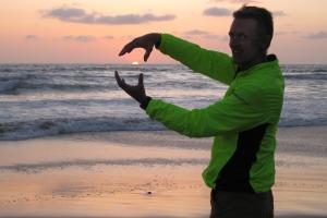 Rudy Owens at Moonlight Beach, April 2016