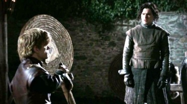 Tyrrion Lannister and Jon Snow