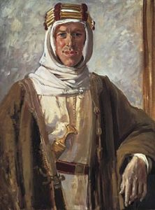 One of history's most famous bastards, T.E. Lawrence (Lawrence of Arabia).