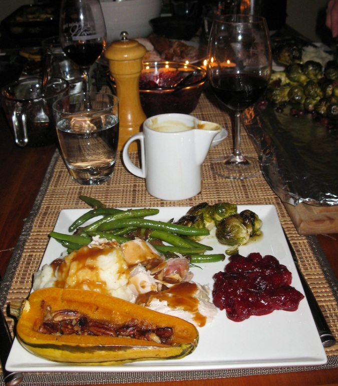 My friends prepared a phenomenal Thanksgiving dinner, yet again, in 2014.