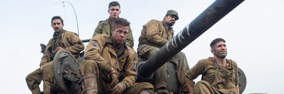 The Tank Crew in the FIlm Fury