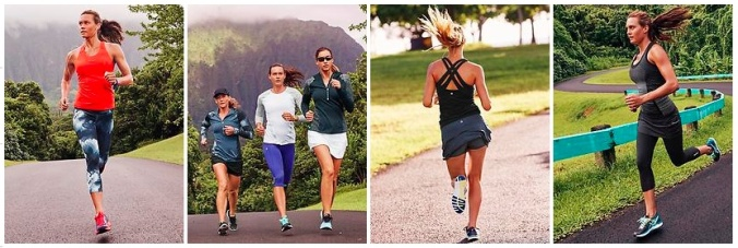 Athleta and the Impossibly Beautiful Runners in their Stylish Running Clothes