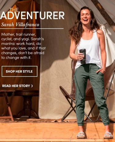 "Athleta, the product line that captures the ""beautiful athelete"" look in its products makes me think of the women, and also men, I am seeing with great frequency in and around Portland."