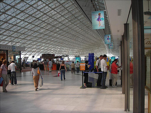 Charles de Gaulle Airport (creative commons license from Flickr).