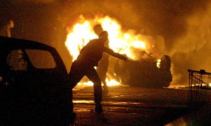 The race riots in France in 2005 that shook the country.